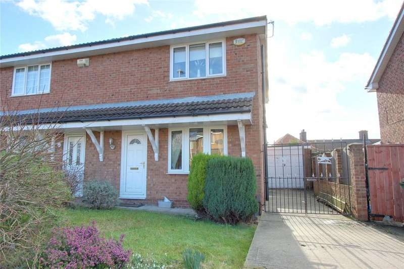 3 Bedrooms Semi Detached House for rent in East Avenue, Billingham
