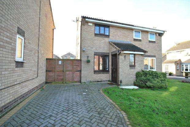 2 Bedrooms Semi Detached House for sale in Yardley Way, Grimsby