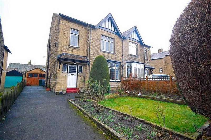 3 Bedrooms Semi Detached House for sale in Lynton Avenue, Springwood, Huddersfield, HD1