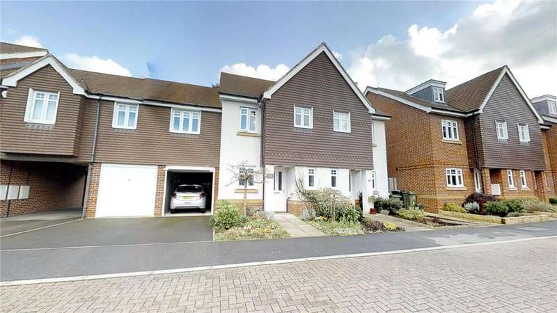 3 Bedrooms Semi Detached House for sale in Sime Close, Guildford, Surrey, GU3