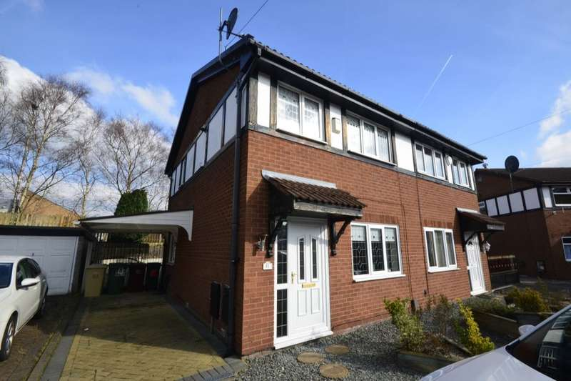 3 Bedrooms Semi Detached House for sale in The Sheddings, Bolton, BL3