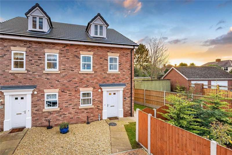 3 Bedrooms Semi Detached House for sale in 1 Hobbs Crescent, Wellington, Telford, TF1