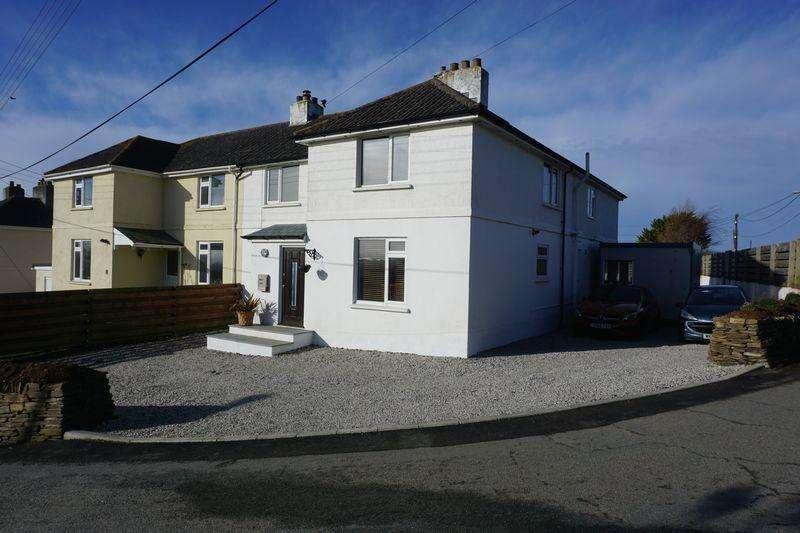 5 Bedrooms Semi Detached House for sale in Moor Cross, Bude