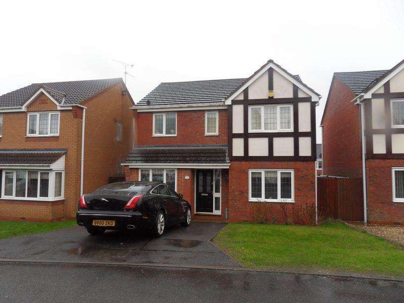 4 Bedrooms Detached House for rent in Denne Close, Corby