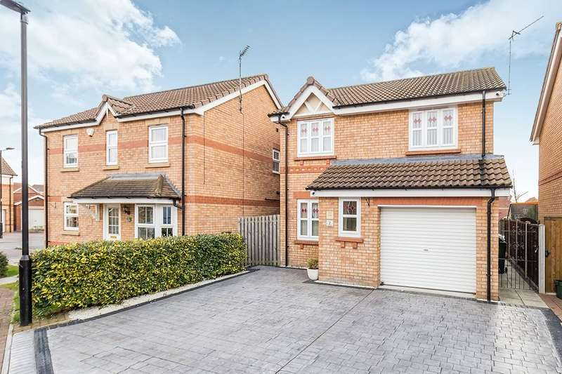 3 Bedrooms Detached House for sale in Evans Court, Armthorpe, Doncaster, DN3