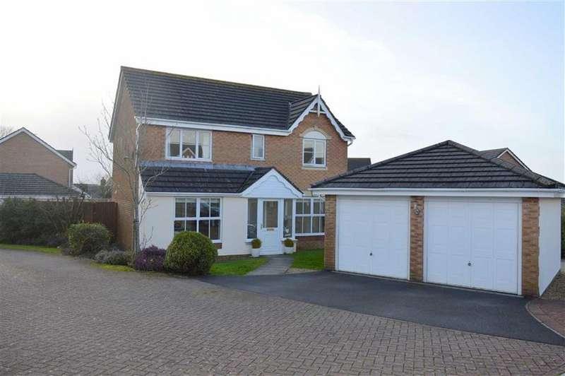 4 Bedrooms Detached House for sale in Coed Y Crwys, Three Crosses, Swansea