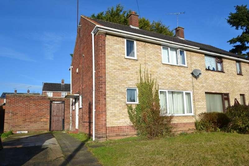 3 Bedrooms Semi Detached House for sale in Sandpiper Road, Ipswich, IP2 9HT