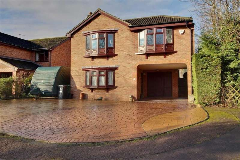 4 Bedrooms Detached House for sale in Craddock Road, Newent, Gloucestershire