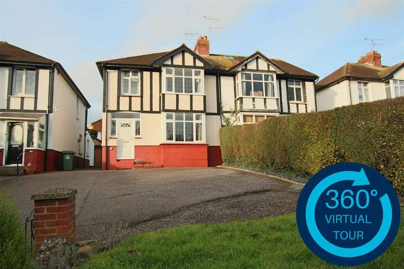 3 Bedrooms Semi Detached House for sale in Honiton Road, Heavitree, Exeter