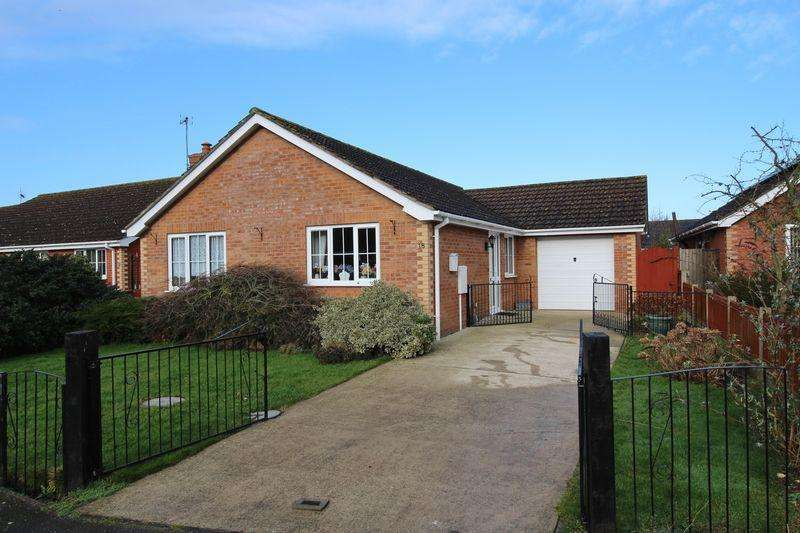 3 Bedrooms Detached Bungalow for sale in Meakers Way, Huttoft