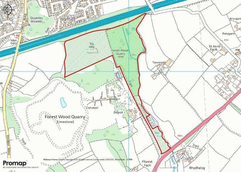 Land Commercial for sale in Approximately 29.97 acres of Land at Talygarn, South of the M4 Motorway