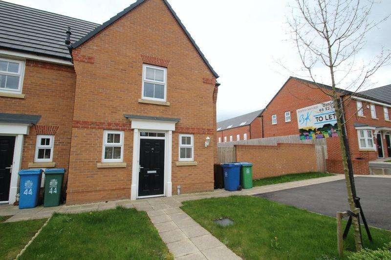2 Bedrooms Semi Detached House for rent in Wren Way, Kingsway , Rochdale OL16 4FY