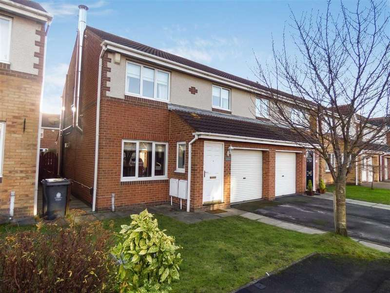 3 Bedrooms Semi Detached House for sale in Holyfields, West Allotment