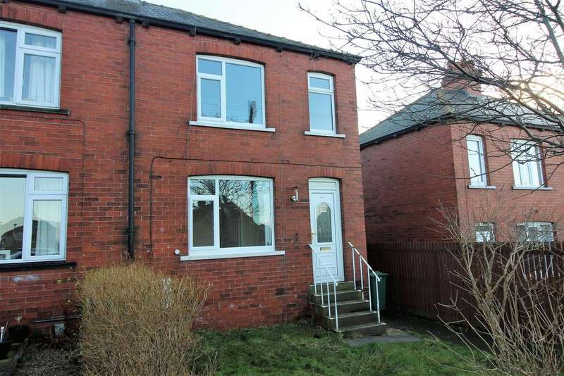 2 Bedrooms Semi Detached House for rent in The Crescent, Kirkburton, Huddersfield, HD8 0TP