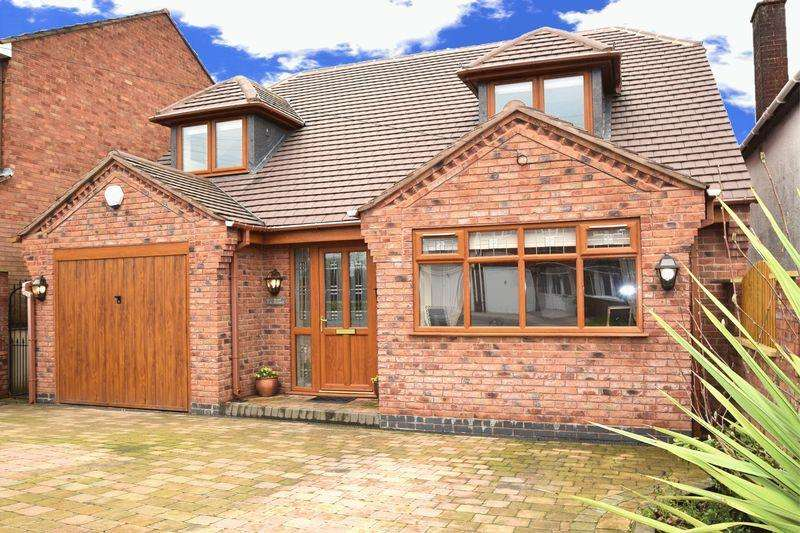 3 Bedrooms Detached House for sale in Mount Pleasant, Cheslyn Hay, Staffordshire