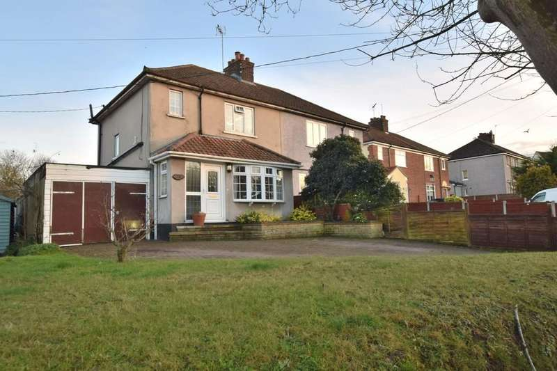 3 Bedrooms Semi Detached House for sale in Rectory Road, Rowhedge, CO5 7HY
