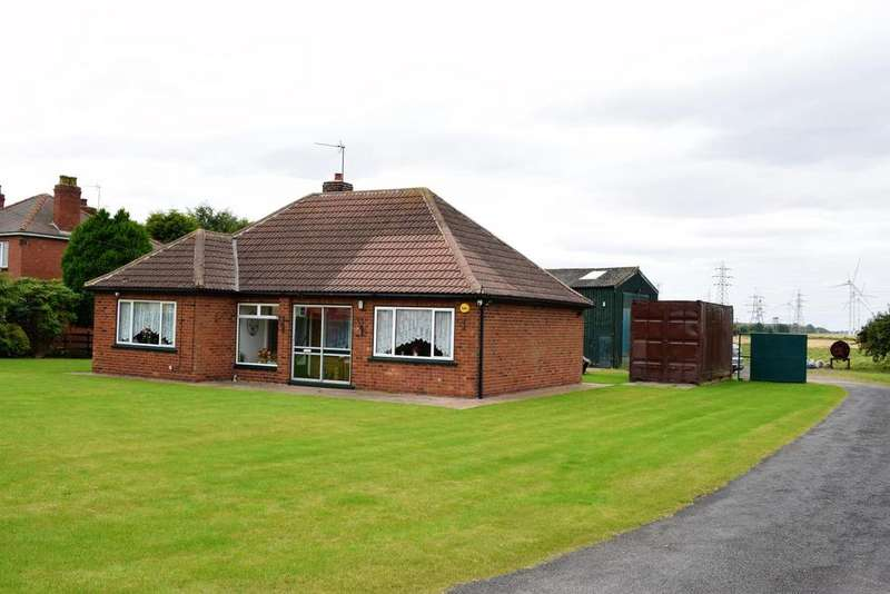 2 Bedrooms Detached Bungalow for sale in North End, Keadby, North Lincolnshire, DN17