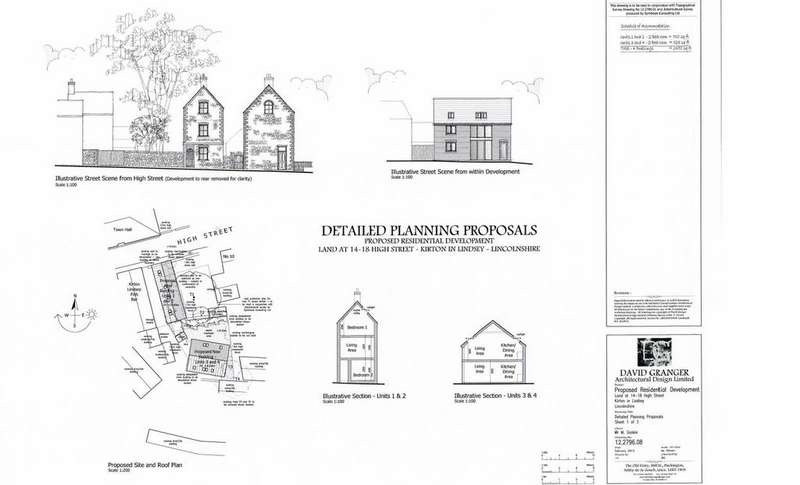 Land Commercial for sale in High Street, Kirton Lindsey, Lincolnshire, DN21