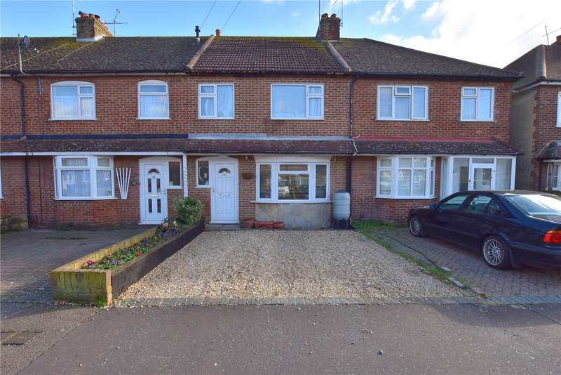 3 Bedrooms Terraced House for sale in Wembley Avenue, Lancing, West Sussex, BN15