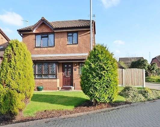 3 Bedrooms Detached House for sale in Kirkham Close, Great Sankey, Warrington