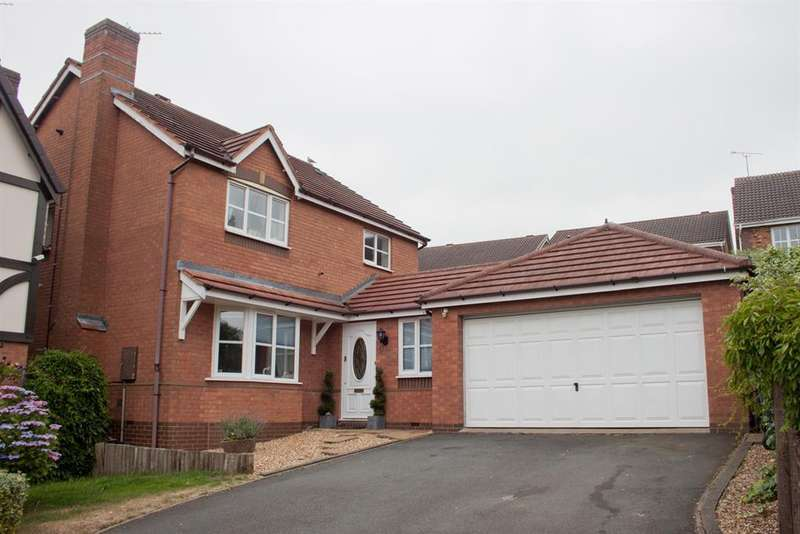 4 Bedrooms Detached House for sale in Albany Drive, Wimblebury, Cannock, WS12 2GQ
