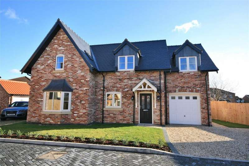 4 Bedrooms Detached House for sale in Hilton Court, Saxilby, LN1
