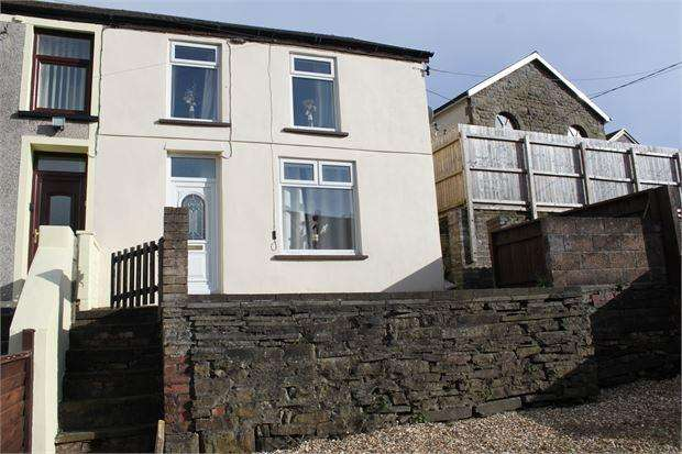 3 Bedrooms End Of Terrace House for sale in Miskin Road, Trealaw, Tonpandy, Rhondda Cynon Taff. CF40 2QJ