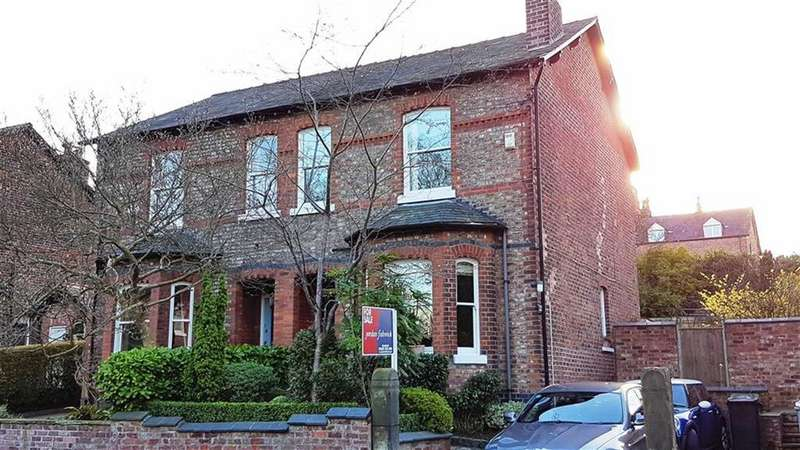 3 Bedrooms Semi Detached House for sale in Hawthorn Grove, Wilmslow