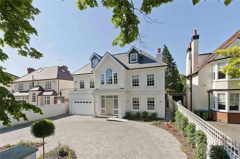 6 Bedrooms Detached House for rent in Wolsey Road, East Molesey, Surrey, KT8