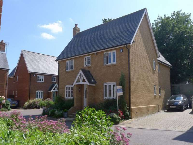4 Bedrooms Detached House for sale in Forge End, Weston, Hitchin, SG4
