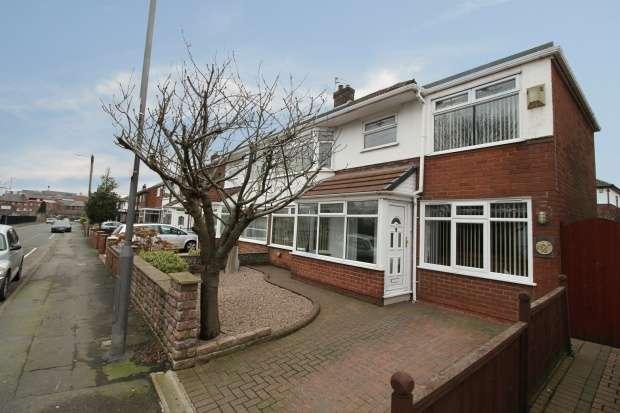 4 Bedrooms Semi Detached House for sale in Stoney Lane, Prescot, Merseyside, L35 9JU