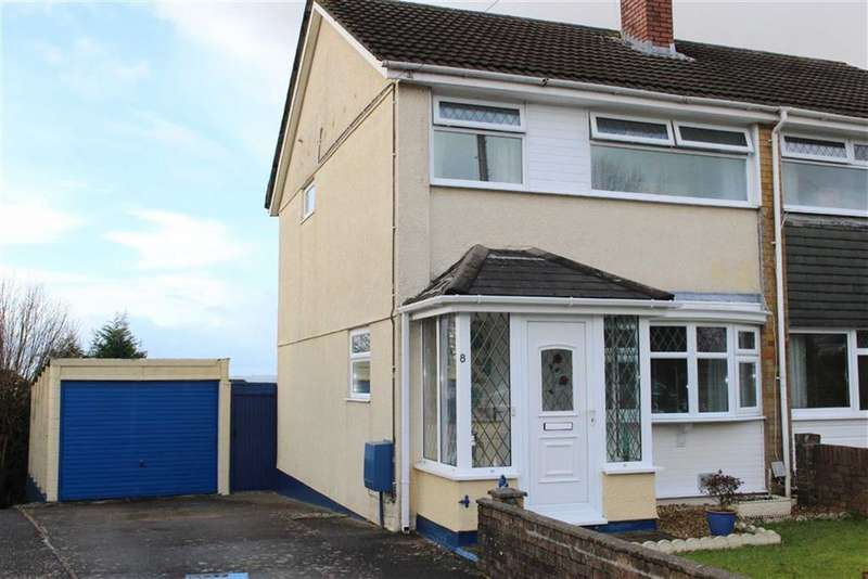 3 Bedrooms Semi Detached House for sale in Bevan Way, Waunarlwydd