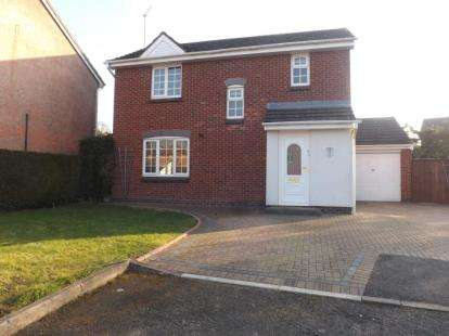 3 Bedrooms Detached House for sale in High Meadows, Stoke Heath, Bromsgrove