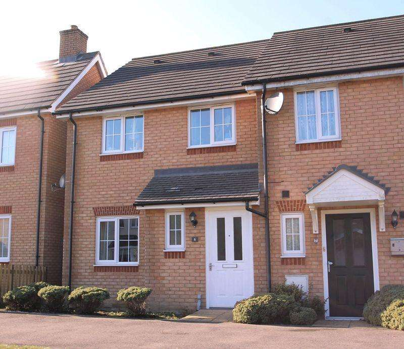 3 Bedrooms End Of Terrace House for sale in Hawkinge, Folkestone