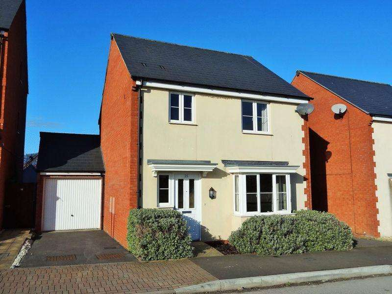3 Bedrooms Detached House for sale in Sorrel Drive, Wilstock, Bridgwater