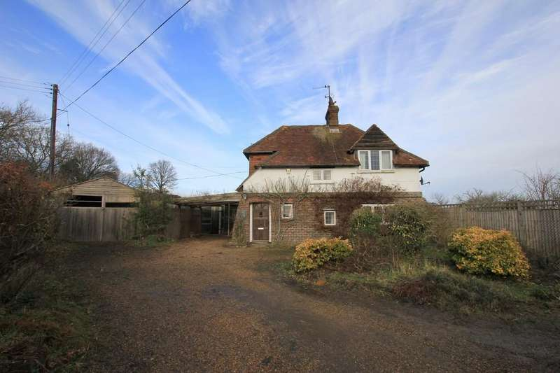 2 Bedrooms Detached House for sale in Bodle Street Green, Hailsham