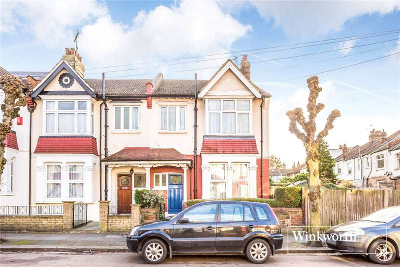 3 Bedrooms End Of Terrace House for sale in Rosemary Avenue, Finchley, London, N3