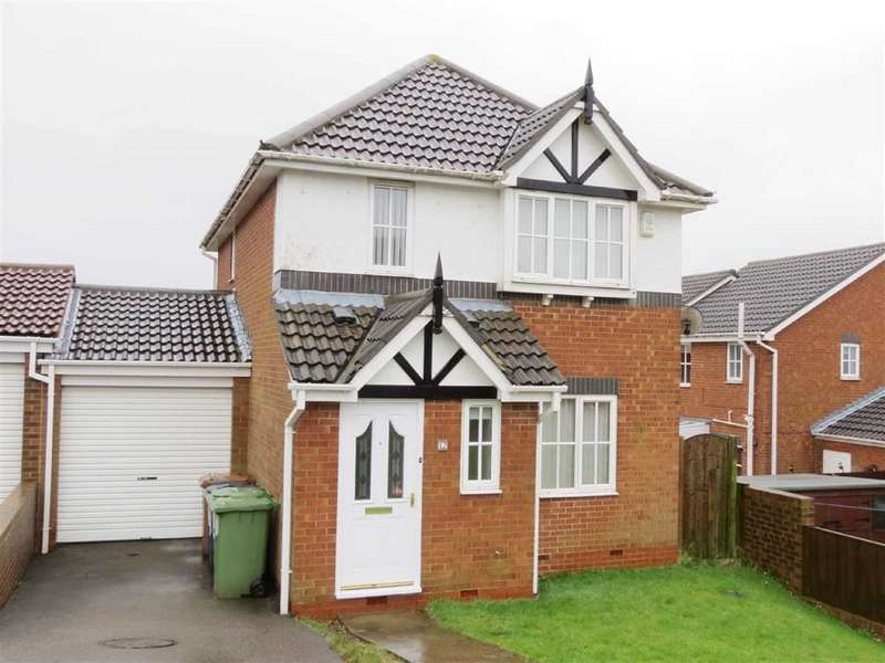 3 Bedrooms Link Detached House for sale in Burnham Close, Shiney Row