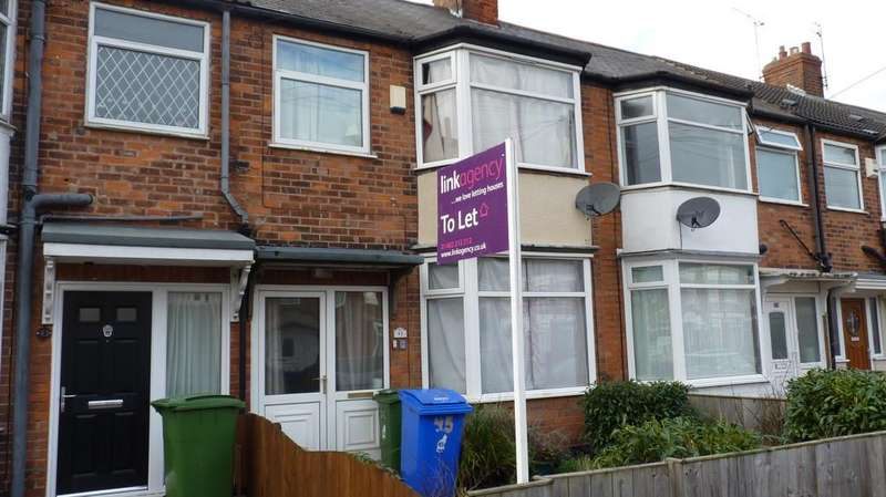 3 Bedrooms Terraced House for rent in Keswick Gardens, North Hull