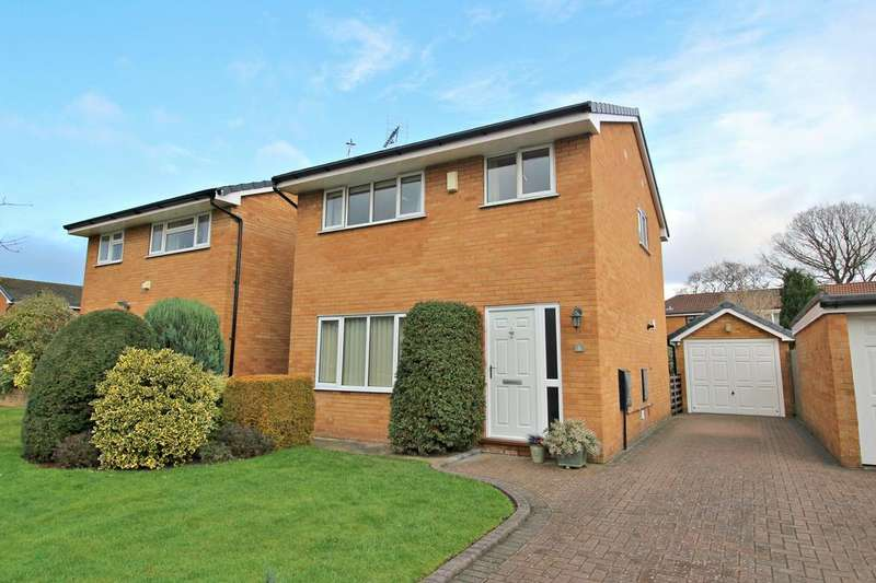 3 Bedrooms Detached House for sale in POYNTON ( BOLTON CLOSE )