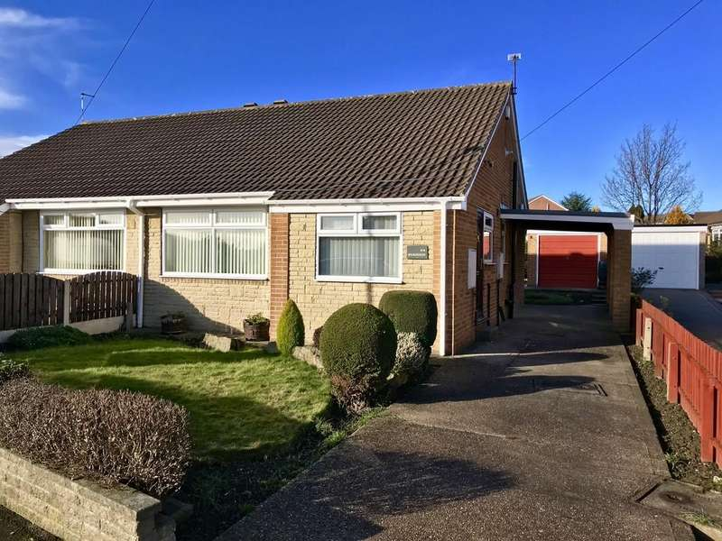 2 Bedrooms Semi Detached Bungalow for rent in Bradwell Avenue, Dodworth, Barnsley