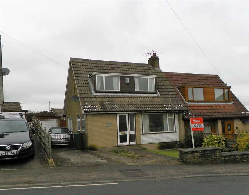 2 Bedrooms Semi Detached House for sale in Hollingwood Lane, Horton Bank Top, Bradford, BD7 4AY