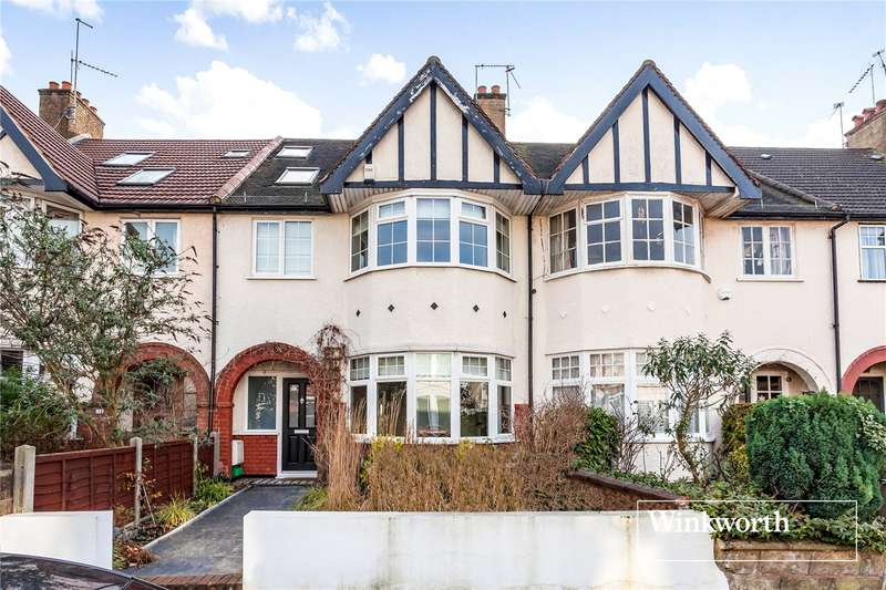 4 Bedrooms Terraced House for sale in Grove Avenue, Finchley, London, N3