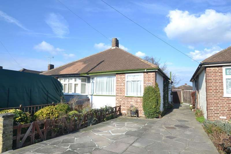 2 Bedrooms Semi Detached Bungalow for sale in Playfield Avenue, Collier Row