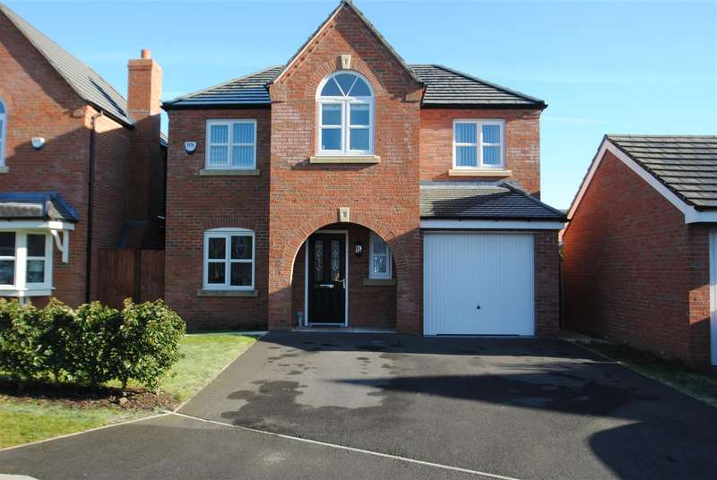 4 Bedrooms Detached House for sale in Edgewater Place, LATCHFORD, Warrington, WA4