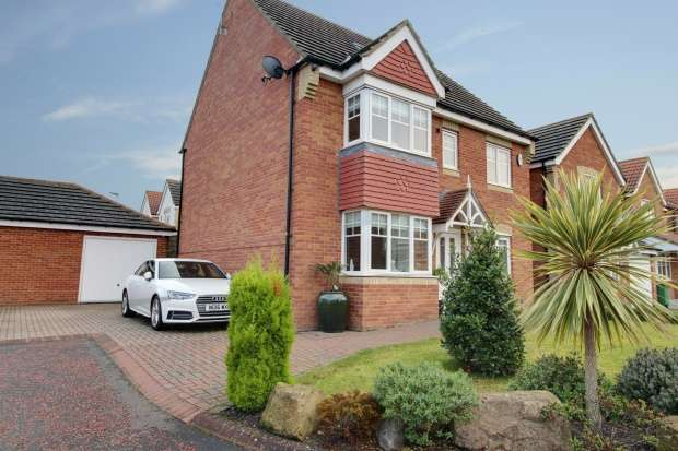 4 Bedrooms Detached House for sale in Heather Lea, Blyth, Northumberland, NE24 4DE