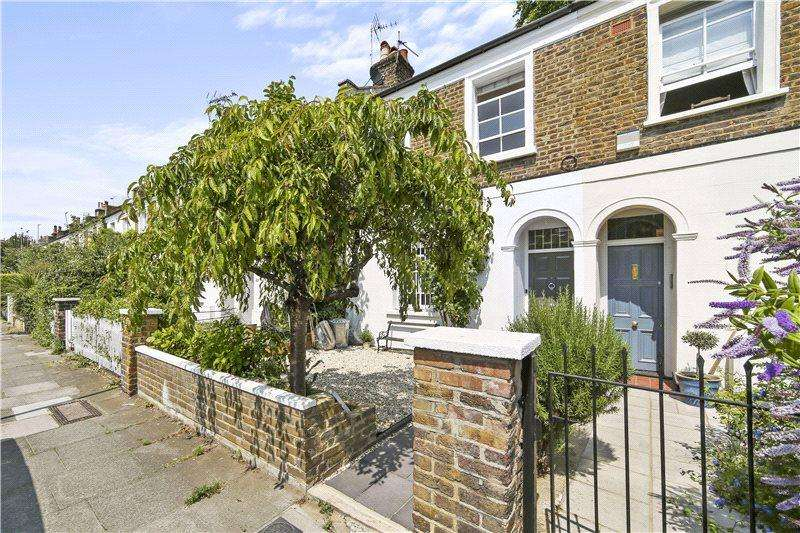 2 Bedrooms Terraced House for sale in Hofland Road, Brook Green, London, W14