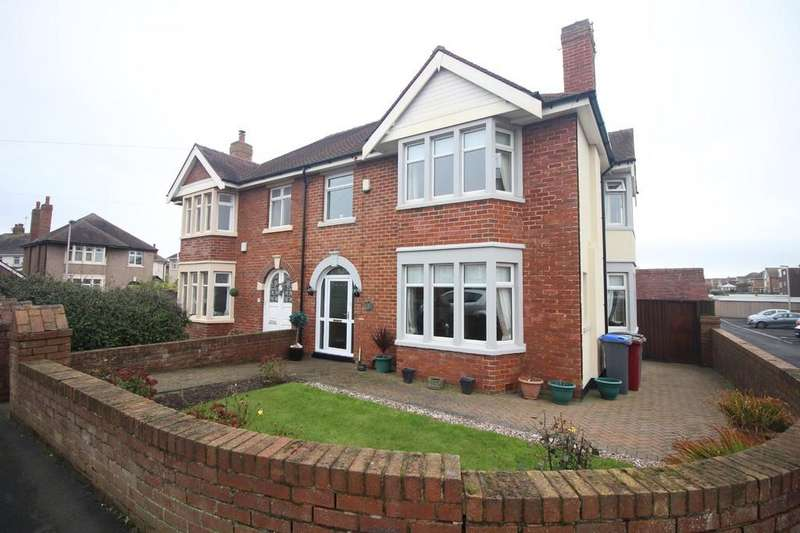 4 Bedrooms Semi Detached House for sale in Norkeed Road, Thornton Cleveleys