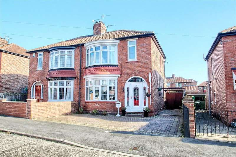 3 Bedrooms Semi Detached House for sale in Cottersloe Road, Norton