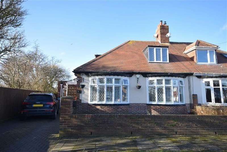 4 Bedrooms Semi Detached Bungalow for sale in Sunnilaws, South Shields